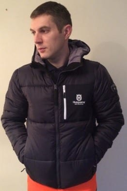 Husqvarna Winter Jacket, Navy, Warm