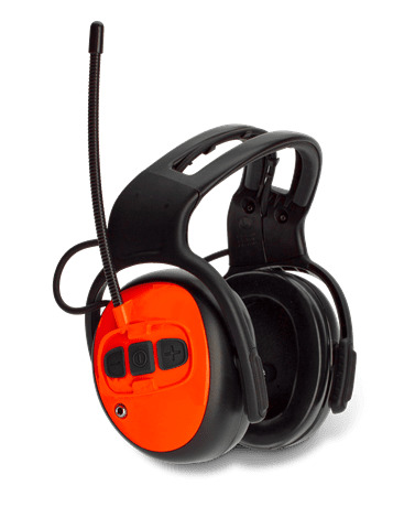 Husqvarna Ear Defenders Hearing protection with FM radio
